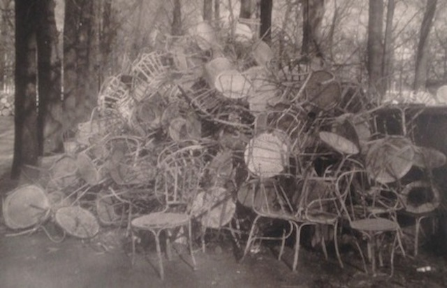 , 'Unseen Versailles (Pile of Chairs),' 1980, Staley-Wise Gallery