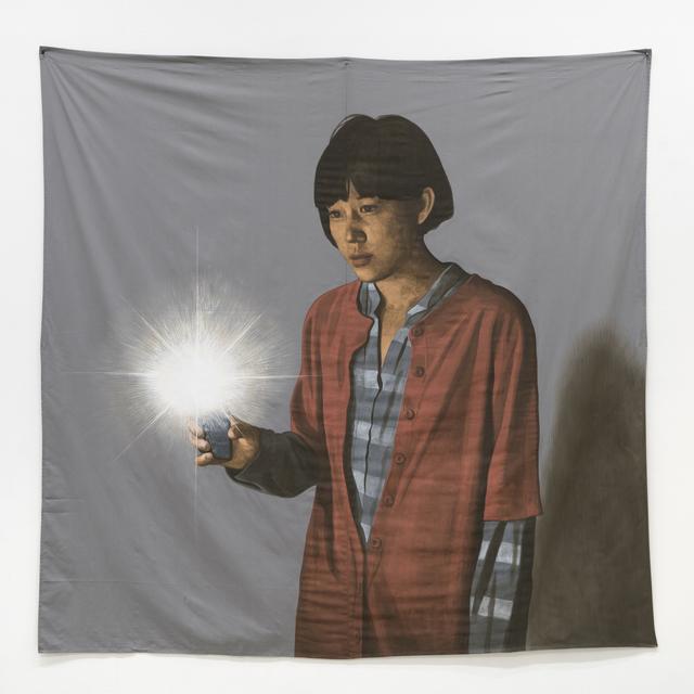 , 'Yeojin, Please Light Up the Flashlight on Your Phone,' 2017, Hakgojae Gallery