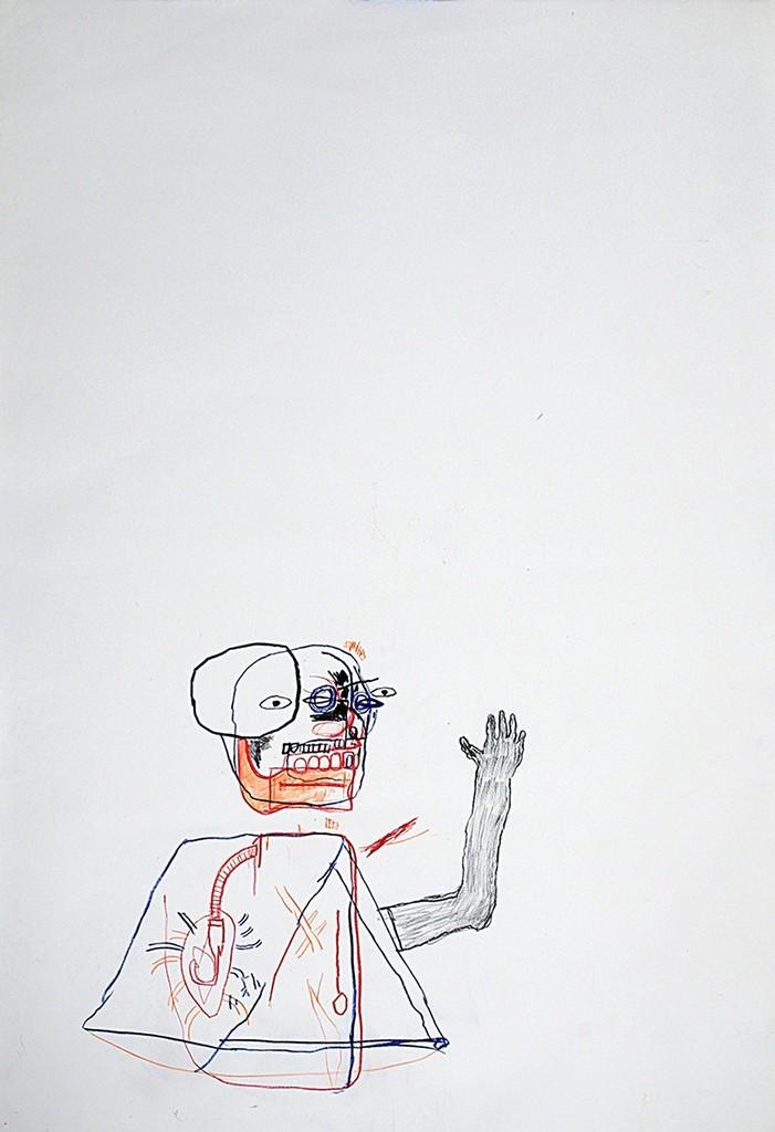 Jean-Michel Basquiat, 'Untitled,' 1987-1988, Stellan Holm Gallery