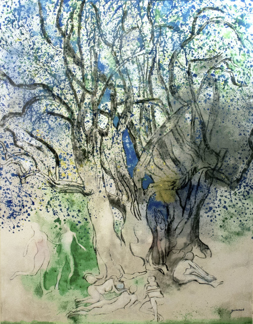 , 'Trees of Antibes (Les Arbes d'Antibes),' ca. 1974, R. S. Johnson Fine Art