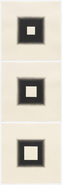 , '3 White Squares,' 2014, Aspinwall Editions