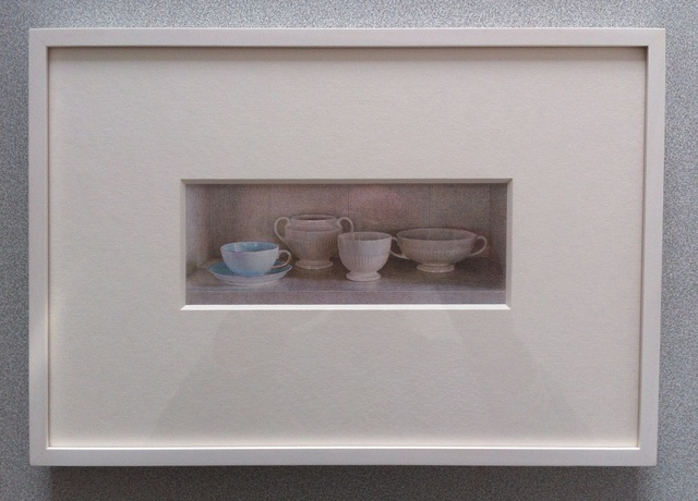 , 'Wedgwood China and Turquoise Cup,' 2012, Nancy Hoffman Gallery