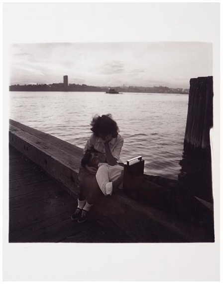 Diane Arbus, 'Couple on a Pier, N.Y.C.', 1963, Laurence Miller Gallery