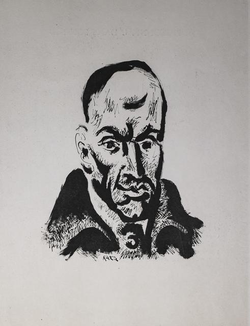 Pablo Picasso, 'Portrait de Gongora, 1949 Limited edition Lithogrph by Pablo Picasso', 1949, White Cross