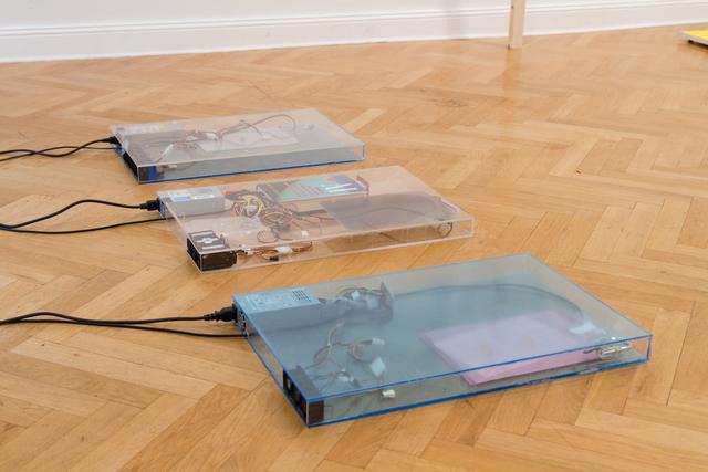 , 'dust, scraper, fan .3 (working title),' 2015, Barbara Seiler