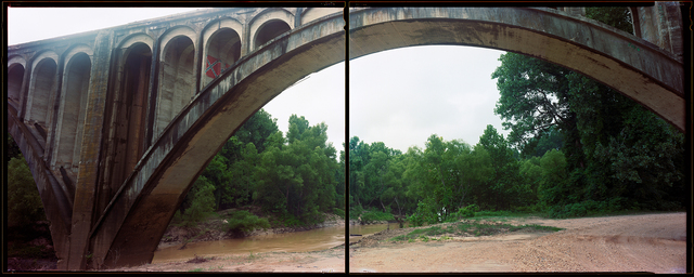 , 'Black River Bridge, Mississippi,' , The Southern