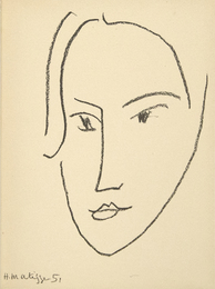 "from ""Matisse, His Art and His Public"""