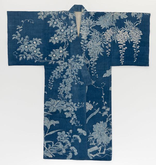 , 'Summer kimono, Yukata ,' 1868-1912, National Gallery of Victoria