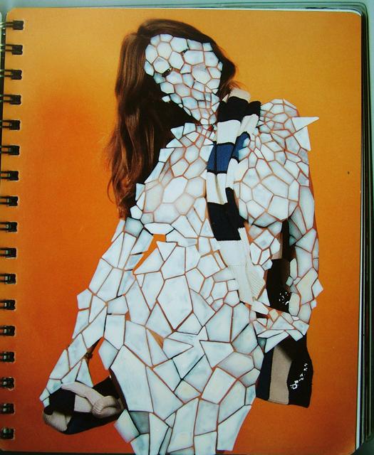 , 'Crackled Girl,' 2010, Powen Gallery