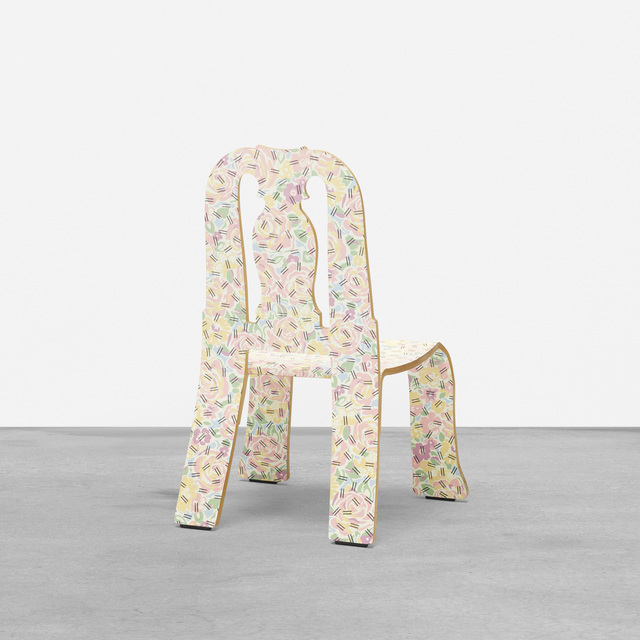 Robert Venturi, 'Queen Anne chair', 1984, Design/Decorative Art, Laminate over wood, Rago/Wright