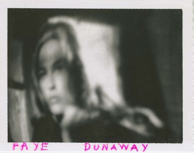 """, 'Faye Dunaway, from """"Glamour Portraits of Actresses"""",' , The Walther Collection"""