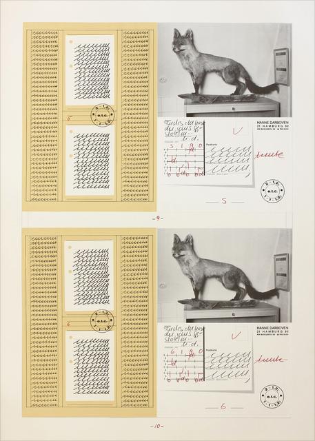 , 'Fuchs du hast die Gans gestohlen,' 1990, Konrad Fischer Galerie