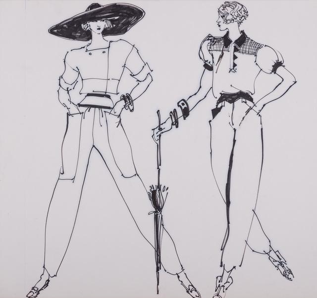 , 'American Sportswear,' 1980, Gray M.C.A