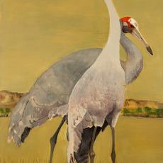 , 'Sarus Cranes,' 2007, Walter Wickiser Gallery