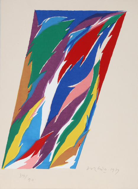 Piero D'orazio, 'untitled', 1979, RoGallery