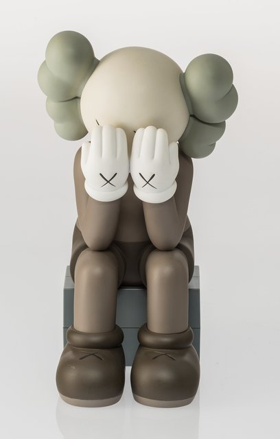 KAWS, 'Companion (Passing Through) (Brown)', 2013, Heritage Auctions