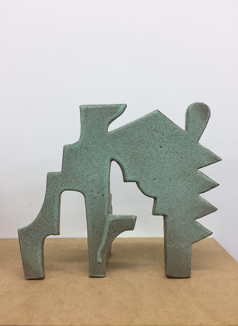 , 'Untitled Ceramic, Green II,' 2015, LMAKgallery