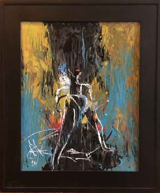 Mariam Qureshi, 'Charcoal Head', 2016, Gallery Mariam