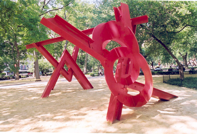 , 'Aesop's Fables,' 1990, Madison Square Park
