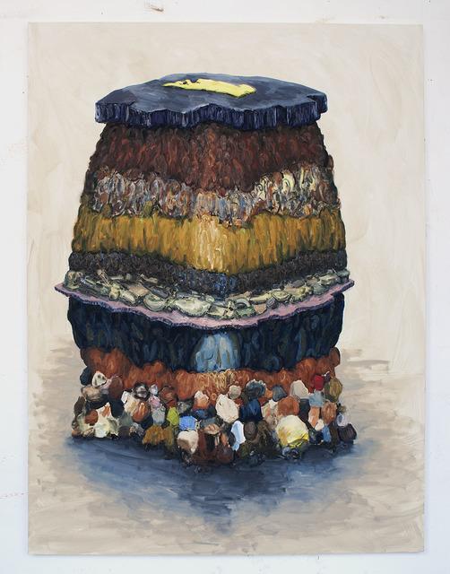 Willem Weismann, 'Soil Profile (egg)', 2012, Quadrado Azul