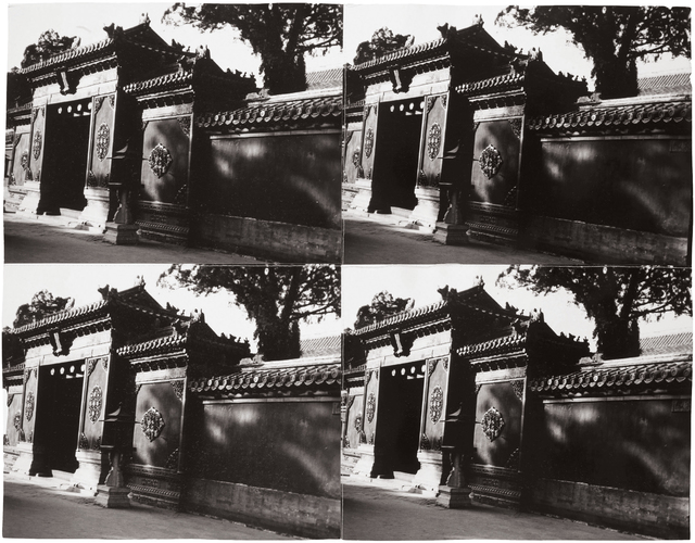 Andy Warhol, 'Palace Wall', 1982 -1987, Photography, Four stitched gelatin silver prints, Phillips