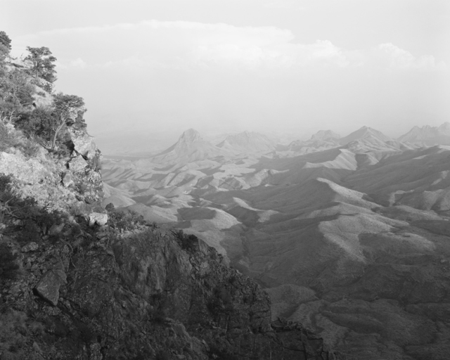 , 'View from the South Rim, Big Bend,' 1988, PDNB Gallery