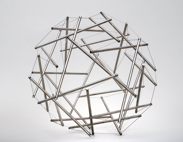 , 'Thirty Strut Tensegrity Sphere,' 1980, Edward Cella Art and Architecture