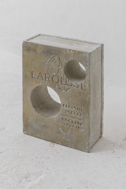 , 'Larousse ingles-español,' 2017, LAMB Arts