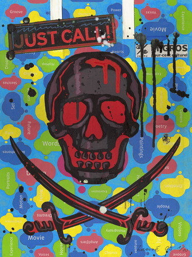 , 'Pirate Skull - Culture Show,' 2009, Artspace Warehouse