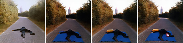 """Bas Jan Ader, 'Study for """"On the road to a new neo-plasticism, Westkapelle, Holland""""', 1971, Meliksetian 