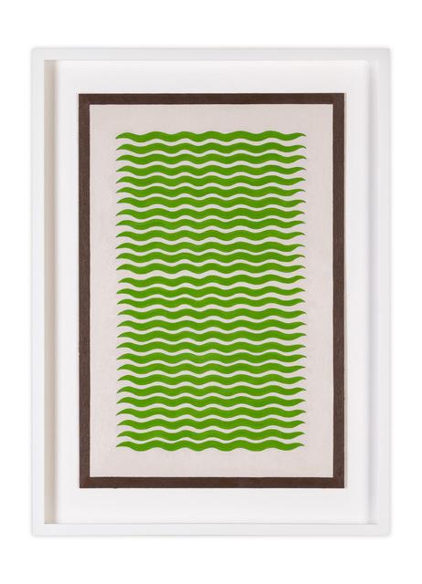 , 'Green Text 1,' 2017, Etherton Gallery