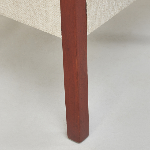 Kem Weber, 'Armchair from the Arizona Biltmore Hotel, Phoenix, AZ', ca. 1927, Design/Decorative Art, Mahogany, upholstery, Rago/Wright