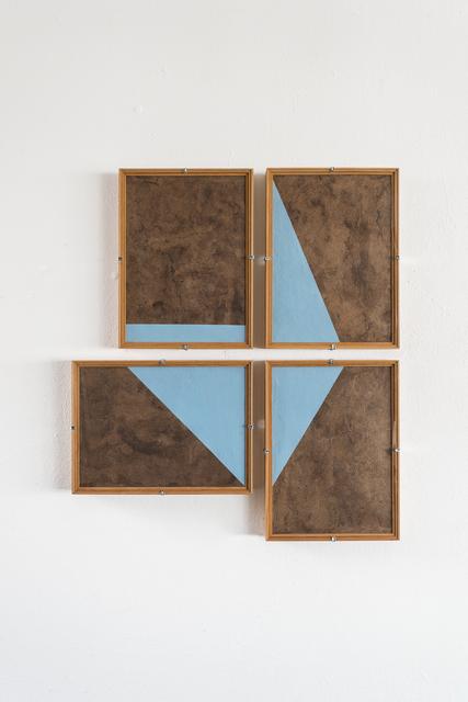 , 'Composiciones Azules No.12,' 2017, Josée Bienvenu