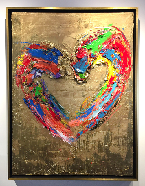 , 'Our Heart Of Gold,' 2018, The Lawley Art Group