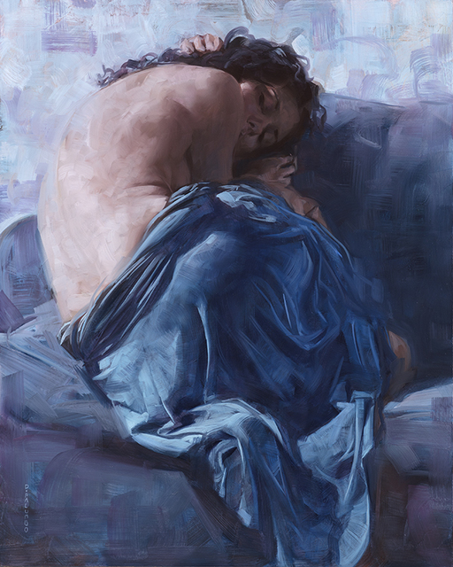, 'Blue Dress Blue Room,' , Rehs Contemporary Galleries