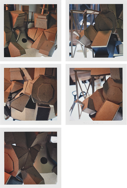 Thomas Demand, 'Five Drafts (Simulator)', 2004, Phillips