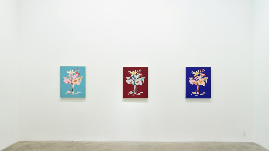 Roland Reiss: Je T'aime installation view (Diane Rosenstein Gallery, Los Angeles)
