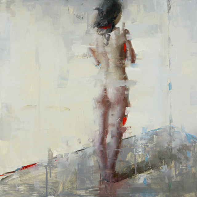 , 'Nude in Red I,' 2015, Abend Gallery