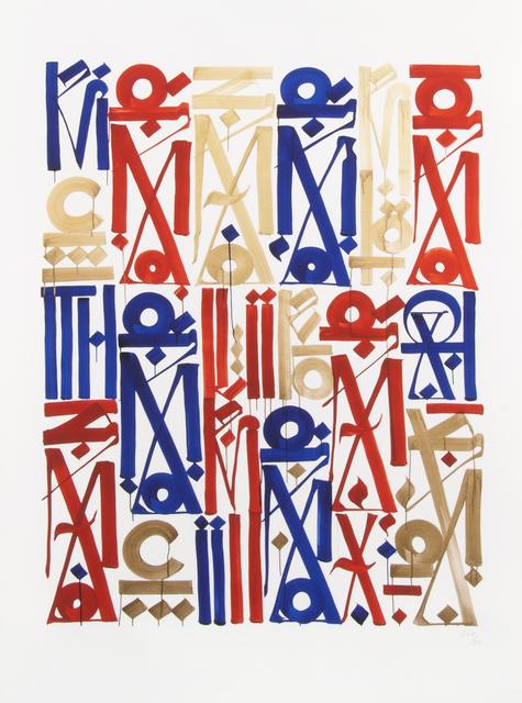 RETNA, 'Braddock Tiles', 2013, Julien's Auctions
