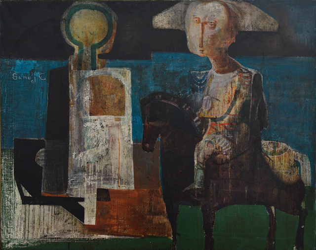 , 'The Napoleon's meeting with a Target,' 1994, Artscoops