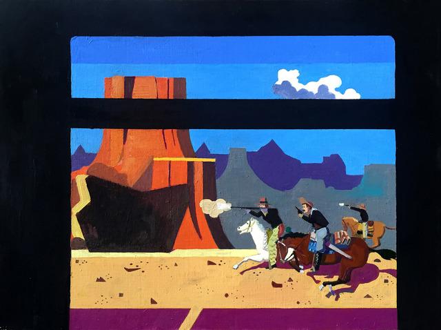 , 'Train Robbery, Scene 1,' 2016, Project: ARTspace