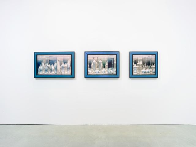 , 'Three Twilight Labryinths,' 2019, James Cohan