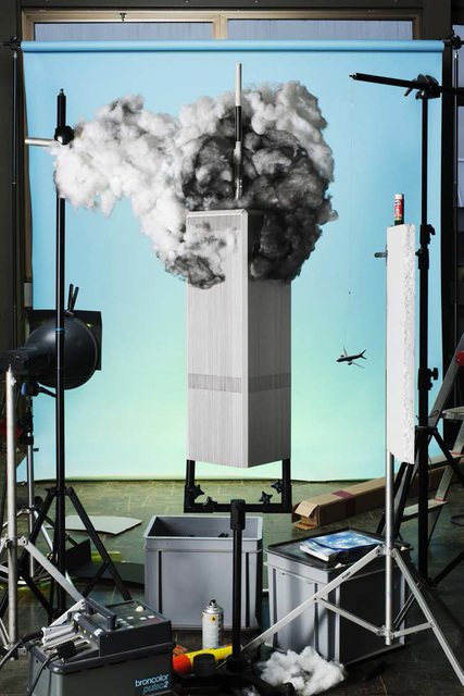 ", 'Making of ""9/11"" (by Tom Kaminski, 2001),' 2013, East Wing"