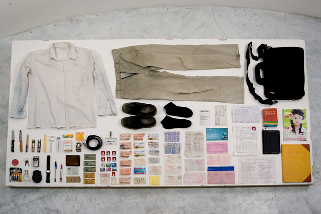 , 'Buying Everything On You,' 2006, Leo Xu Projects