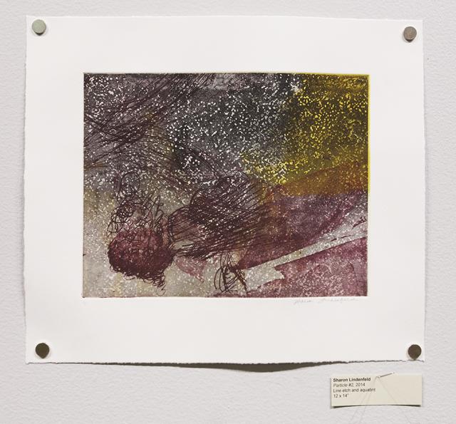 , 'Particle #2,' 2014, Shoestring Press