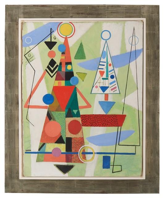 , 'Über allen Türmen,' 1948, Bode Gallery