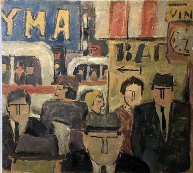 Julio Alpuy, 'Escena de ciudad', Odalys