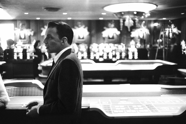 Bob Willoughby, 'Frank Sinatra at the Craps Tables, Sands Hotel, Las Vegas', 1960, ElliottHalls