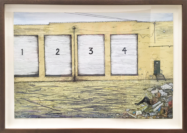, 'Loading Docks,' 2016, Rosamund Felsen Gallery
