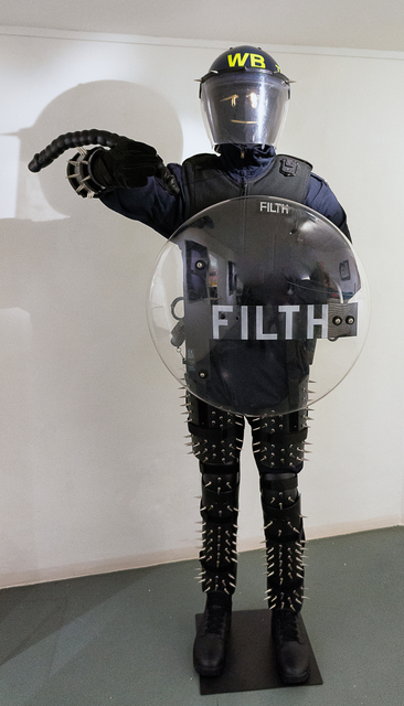 , 'Filth,' 2017, Lawrence Alkin Gallery